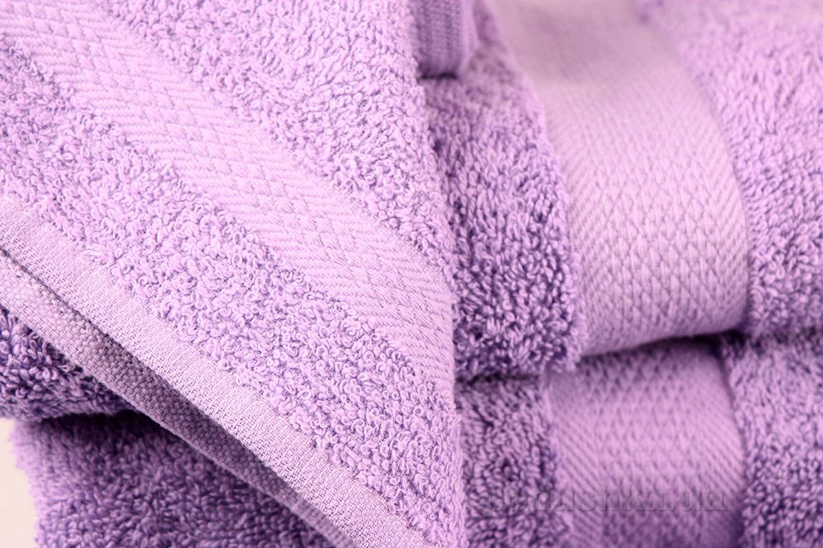 Махровое полотенце IzziHome Smiley сиреневое 30х30 см  Izzihome
