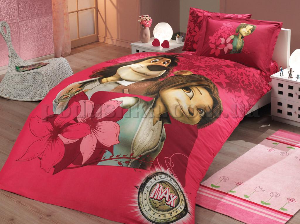 Постельное белье Hobby License Max темно-розовый