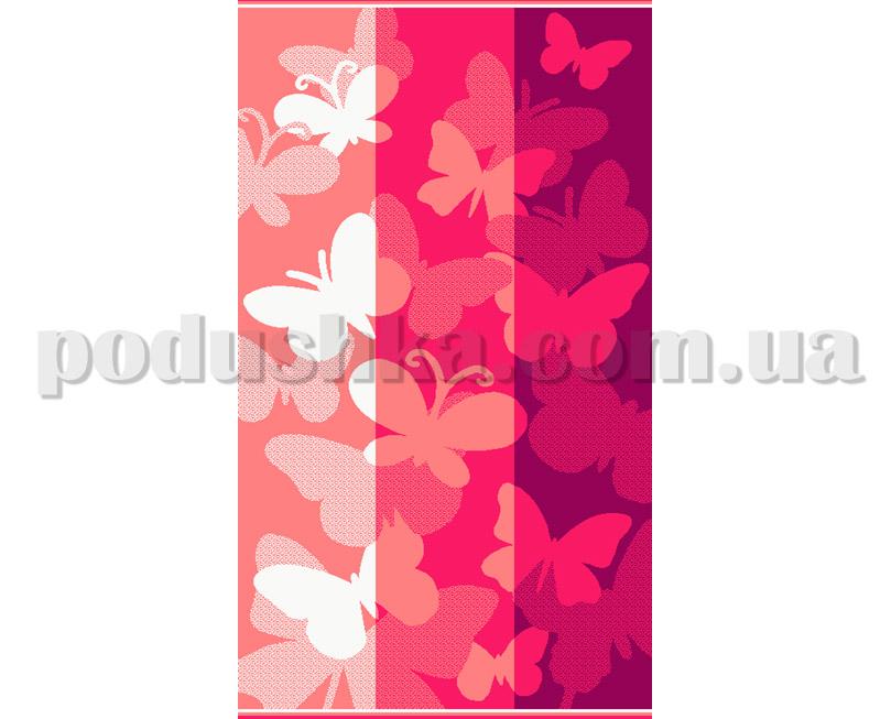 Полотенце пляжное Maisonette Belinda розовое