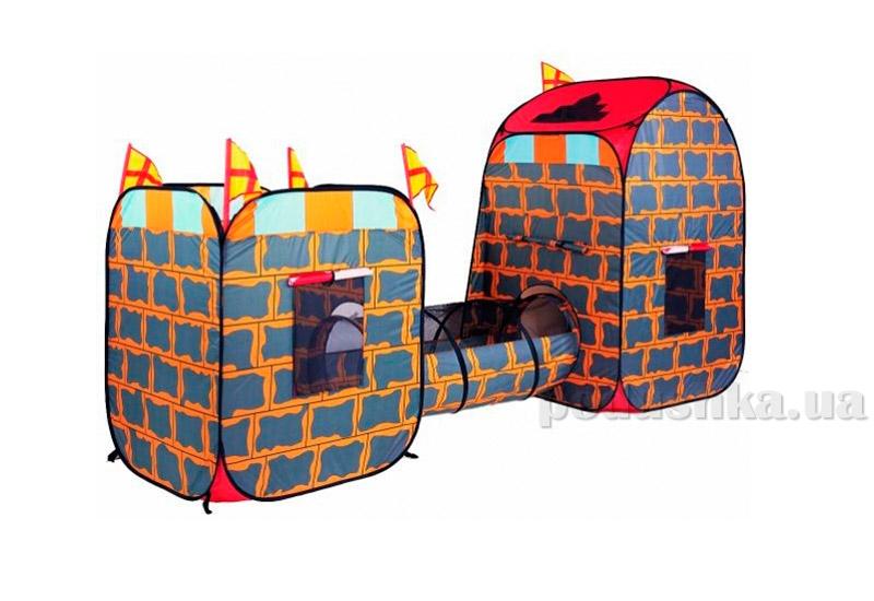 3-в-1 Самораскладной супернабор Крепость палатка Devik play joy TS3013