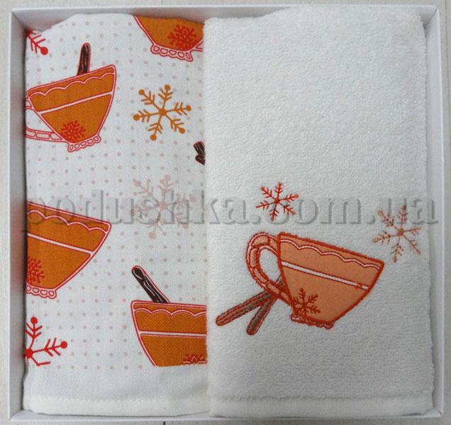 Набор кухонных полотенец PAVIA CUP (ЧАШКИ)