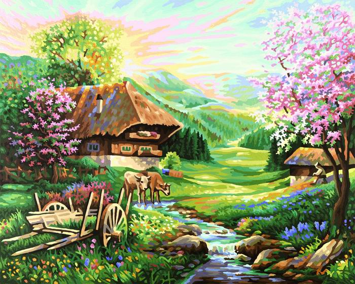 Художественный творческий набор Весна