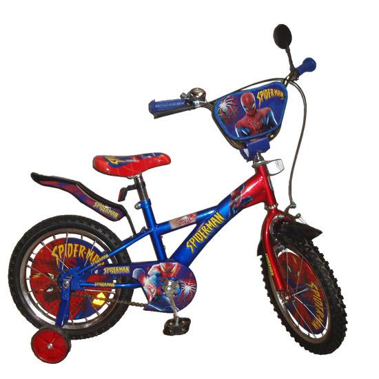 Велосипед двухколесный на 16 дюймов Укрпромресурс Spiderman 131605