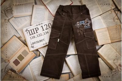 Детские штанишки с карманами (вельвет) ШР120