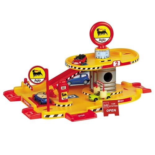 Игровой набор - ГАРАЖ (2 уровня, 1 машинка)