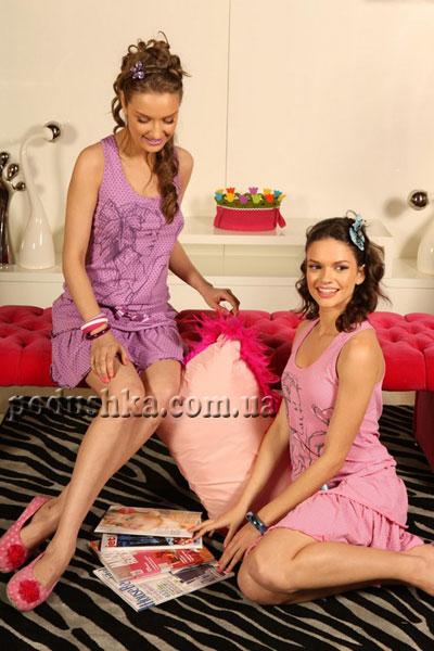 Платье для дома 70-084 LILA(LILAC) фиолетовое