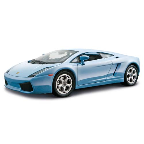 Авто-конструктор - Lamborghini Gallardo, голубой