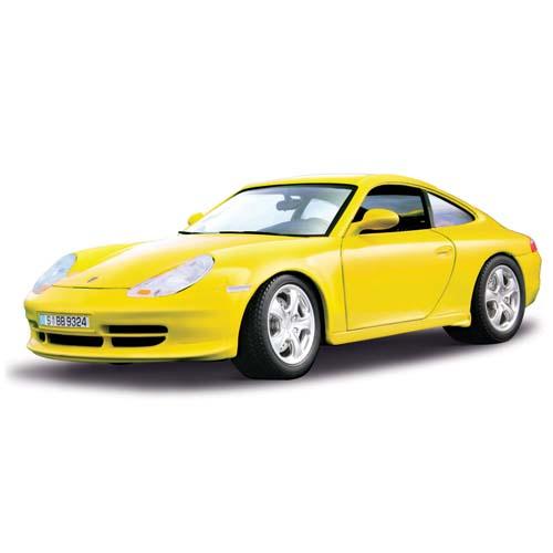 Авто-конструктор - Porsche 911 Carrera 4 (1998) (желтый, 1:18)