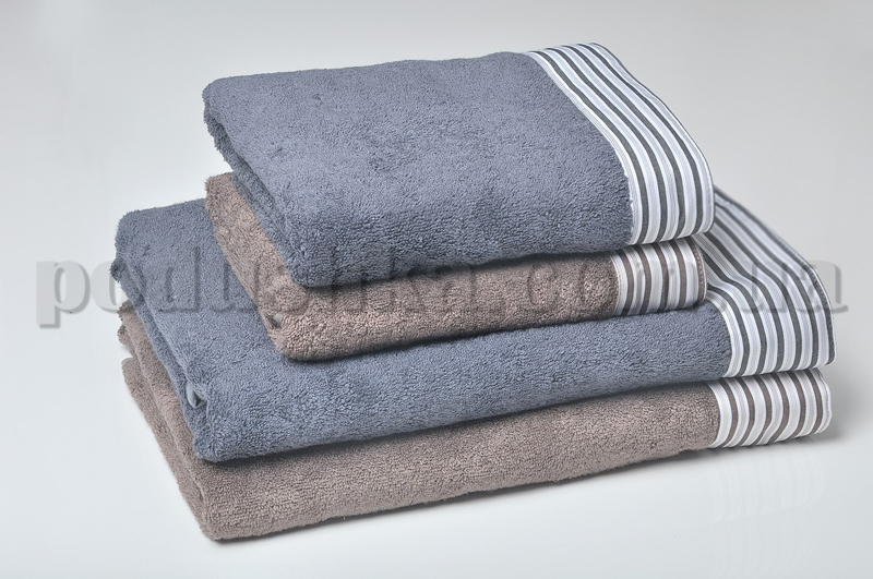Набор махровых полотенец Pavia COURAGE GREY серый