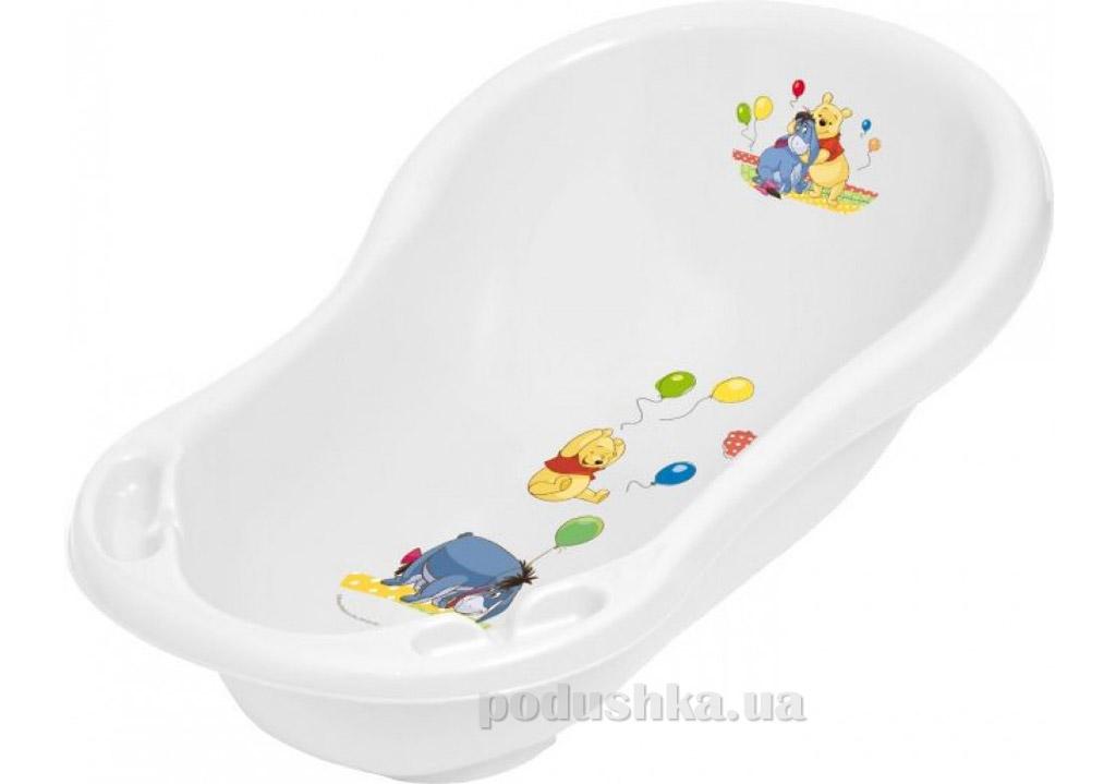 Детская ванночка Prima baby со сливом 100 см белая