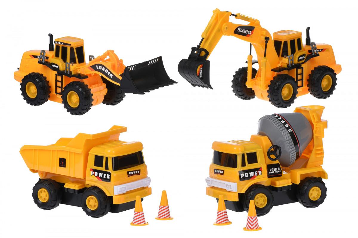 Набор машинок Same Toy Truck Series Строительная техника R1805Ut