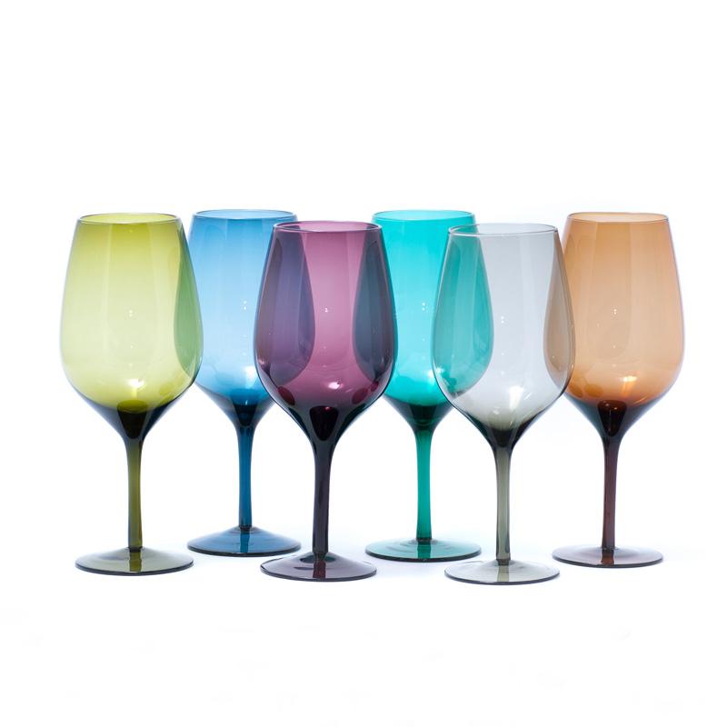 Набор бокалов для вина Villa d'Este 600 мл 6 шт 241023-MIX