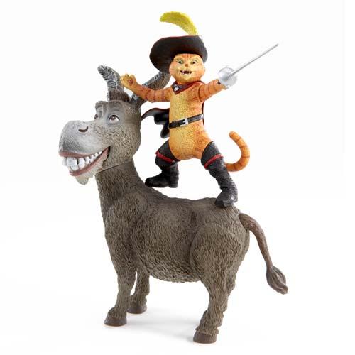Фигурка серии Кот и ослик