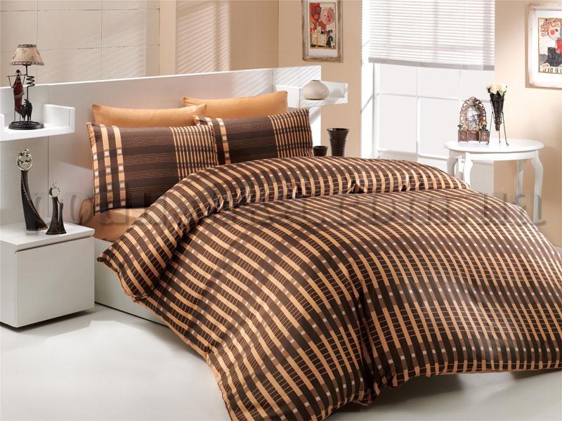 Постельное белье Hobby Victoria коричневый
