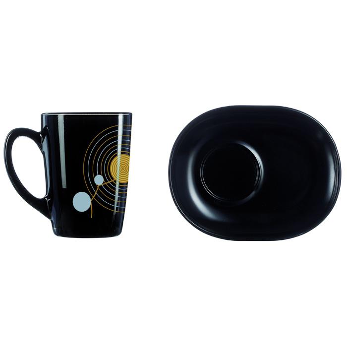 Сервиз чайный Luminarc SEQUINS BLACK 220*6