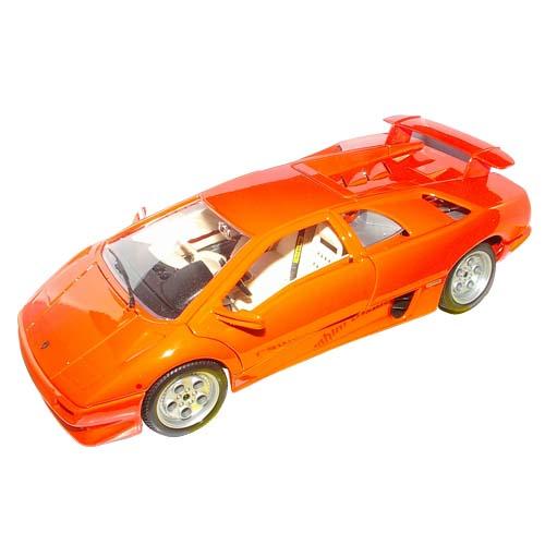 Автомодель - Lamborghini Diablo (оранжевый, 1:18)
