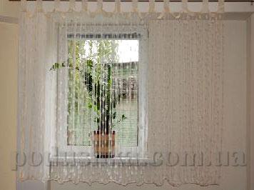 Ниточная тюль Haft 5023 160х300 кремовая