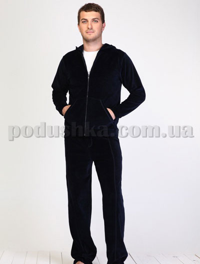 Костюм мужской велюровый с футболкой Hays EP-066