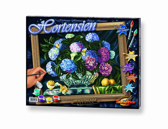 Художественный творческий набор Гортензия