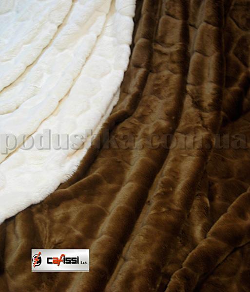 Одеяло-покрывало меховое Cafissi Svezia cipolla