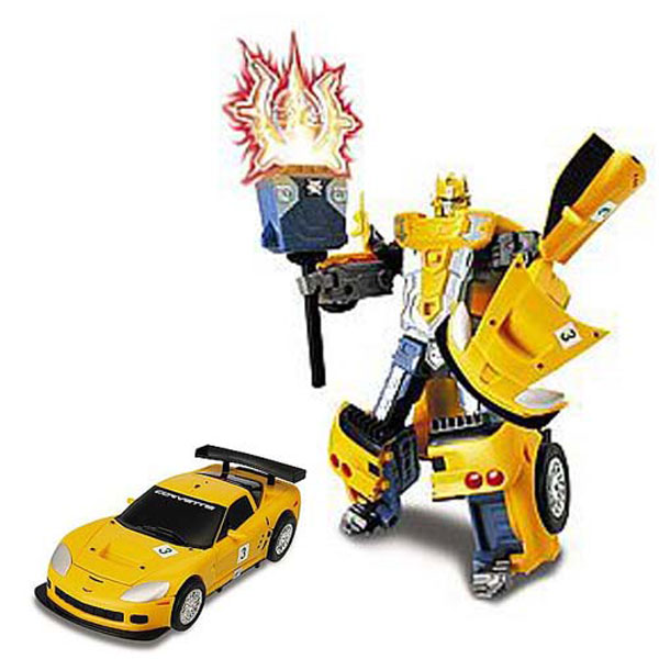 Робот-трансформер - FORD FR 500C MUSTANG (1:24)