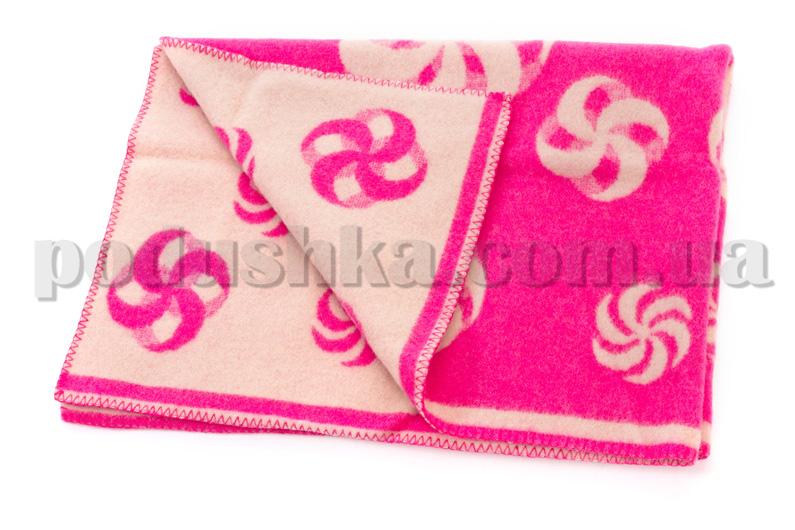 Одеяло детское Мельница розовое Klippan Saule