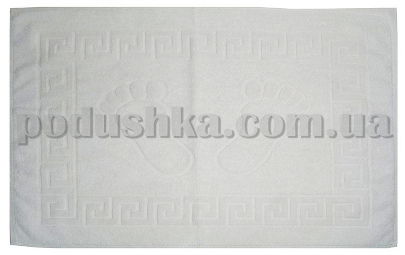 Полотенце махровое Pavia для ног белое