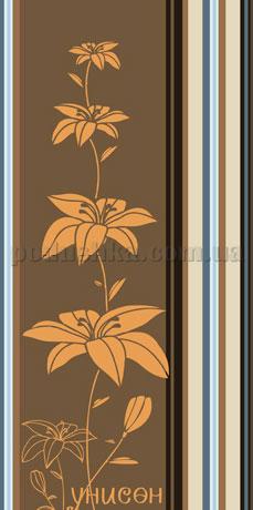 Полотенце махровое Унисон Селия коричневый