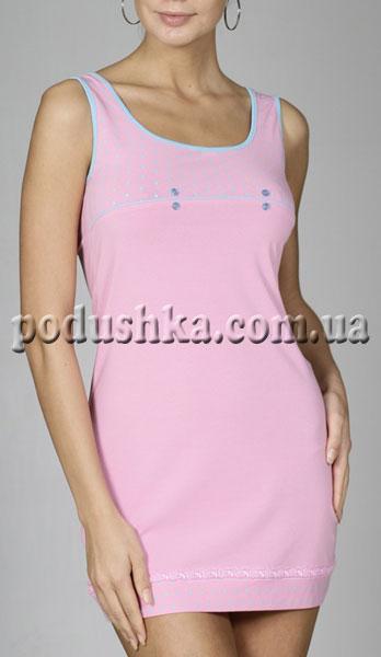 Платье для дома 70-013 PINK(PEMBE) розовое