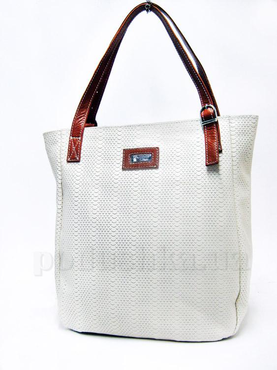 Сумка из натуральной кожи Artis Bags 755 белая