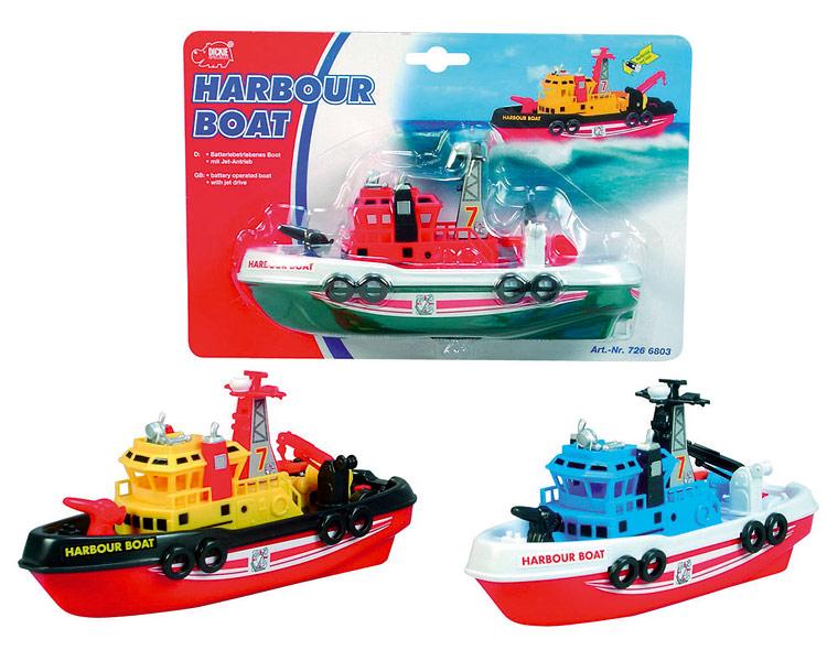 Портовый корабль Boat