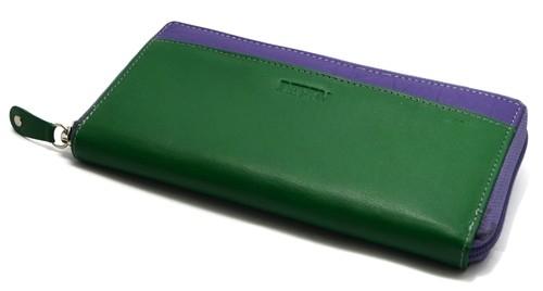 Большое трехцветное портмоне Derby 0450422