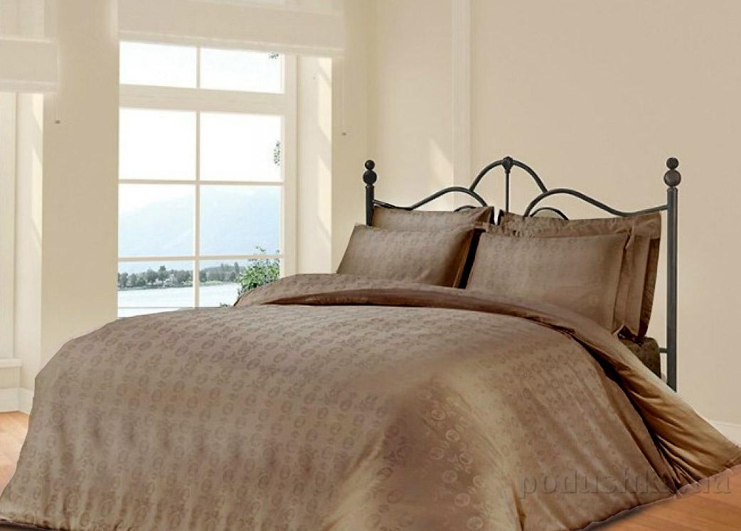 Постельное белье Le Vele Royal brown Двуспальный евро комплект  Le Vele