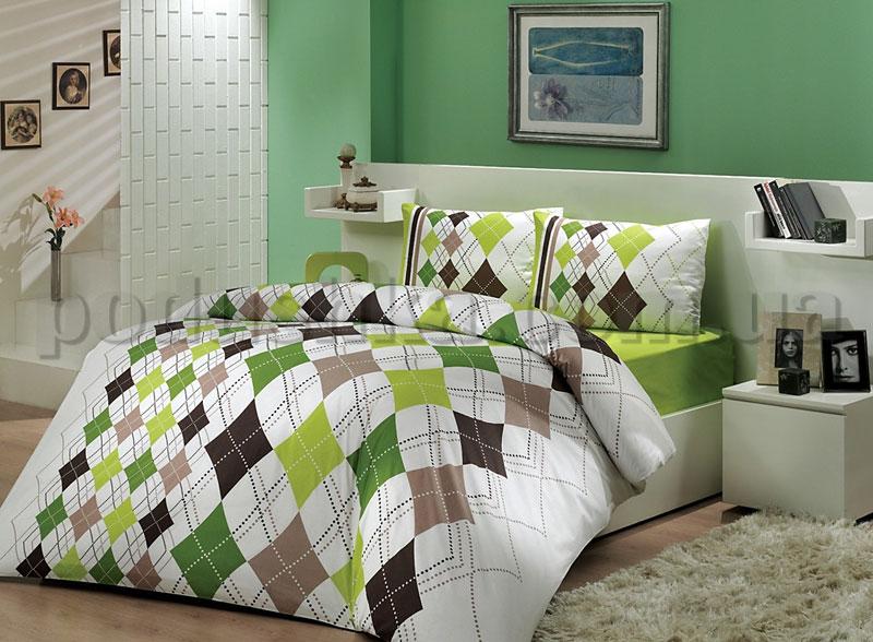 Постельное белье Hobby Rhapsody зеленый