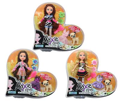 """Кукла """"Maxie girls"""" с собачкой и аксессуарами"""