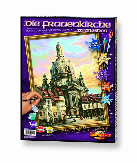 Художественный творческий набор Фрауэнкирхе. Дрезден