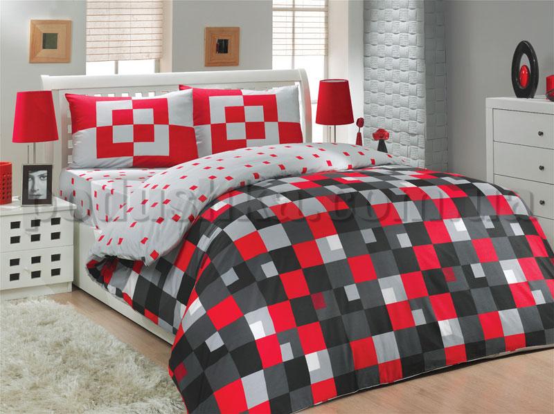 Постельное белье Hobby Mirage красный
