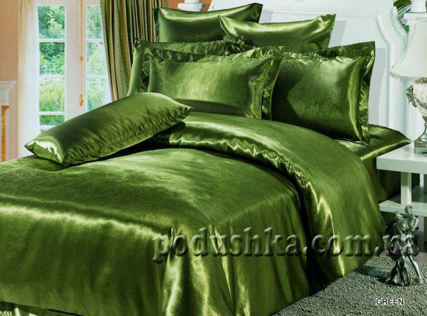 Постельное белье Green (с тиснением), ARYA