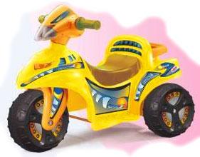 Трициклет Loko Toys, цвет жёлтый, 99011-Y