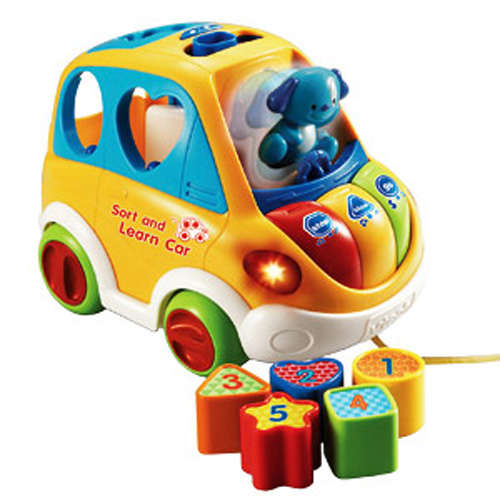 Игрушка развивающая - Обучающий Автомобиль-Каталка (музыкальная)