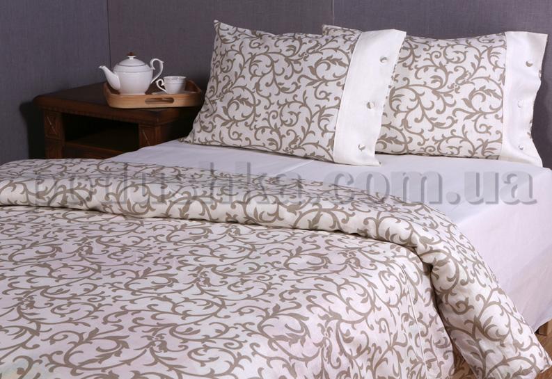 Комплекты постельного белья из льна Экспрессия