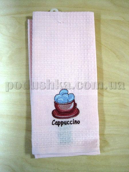 Набор вафельных кухонных полотенец Mariposa 012 Капучино
