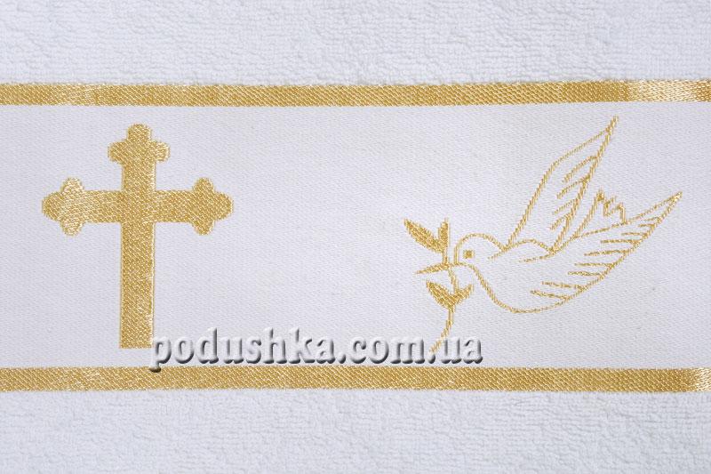 Крыжма для крещения (70х140 см)