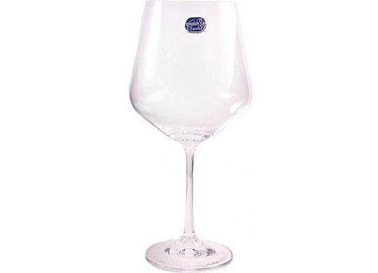Бокалы Sandra 550 мл для вина 6 шт Bohemia