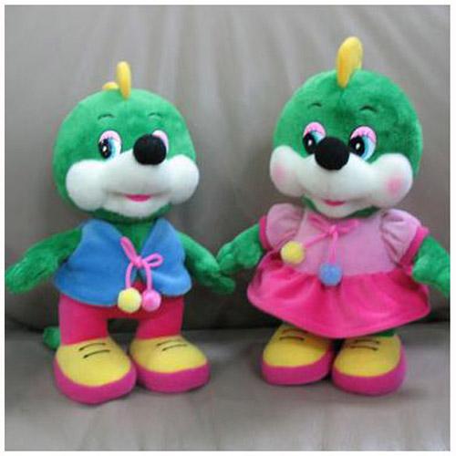 Мягкая игрушка - ДРАКОНЧИК (мальчик/девочка, муз., 21 см)