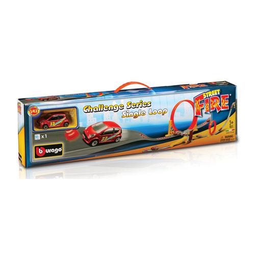 Игровой набор - Трек скоростная петля (1 дорожка + 1 машинка)