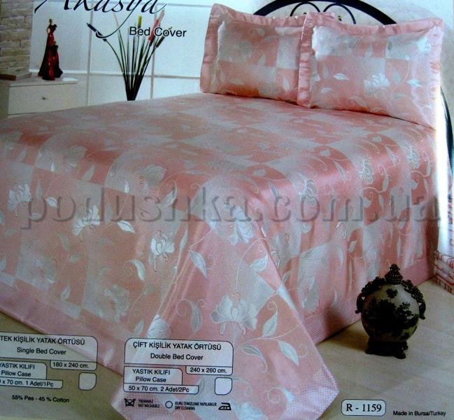 Покрывало с наволочками Hanibaba R-1159 pink