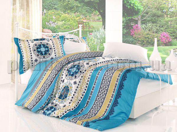 Постельное белье Altinbasak Queen turquaz