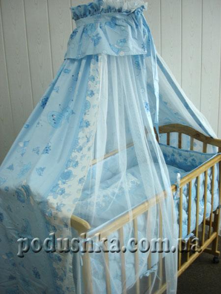 Спальный комплект для детской кроватки ВЕСЕЛКА-3