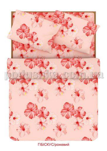 Постельное белье Home line Гибискус розовый